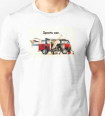 VW kombi sports car  Unisex T-Shirt