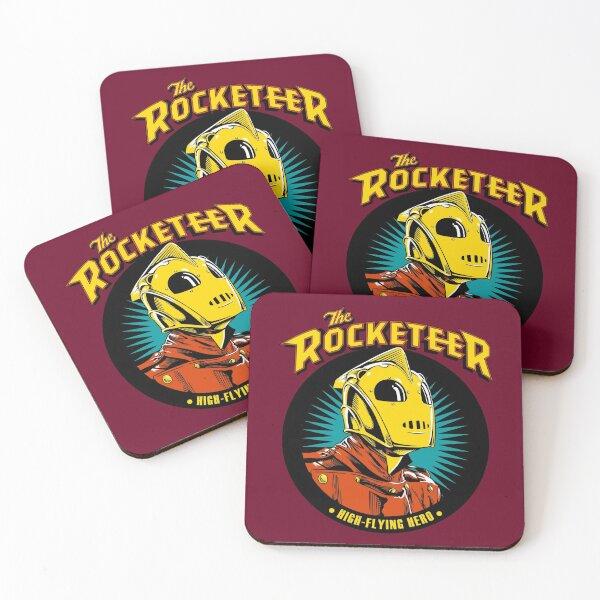 The Rocketeer High-Flying Hero 1 Coasters (Set of 4)