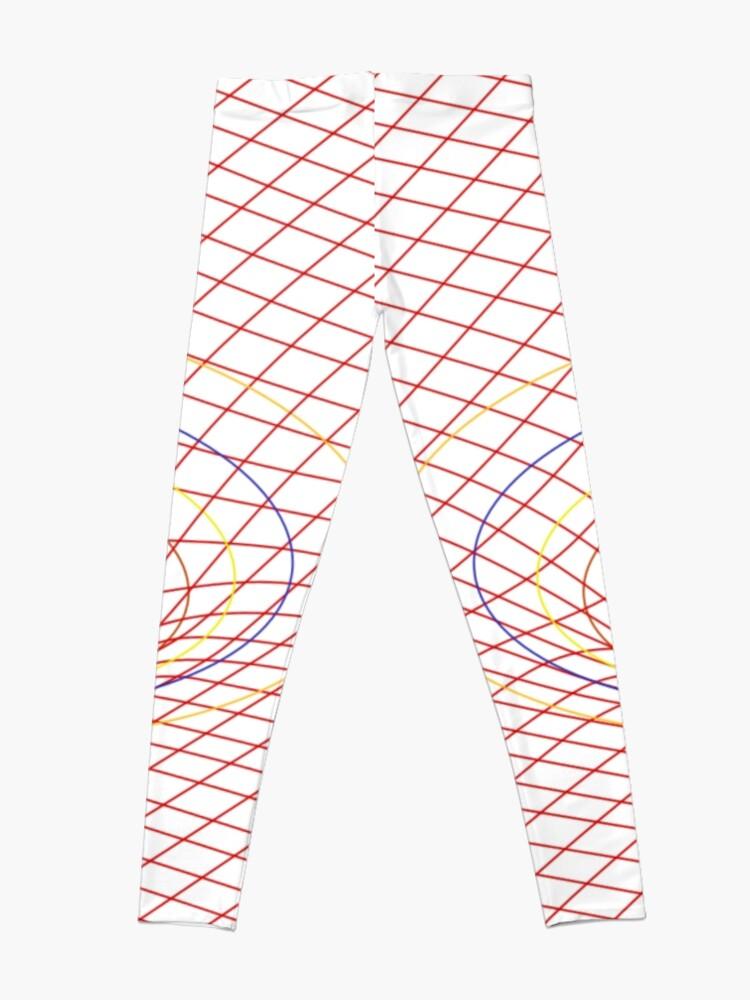Alternate view of Induced Spacetime Curvature, General Relativity Leggings