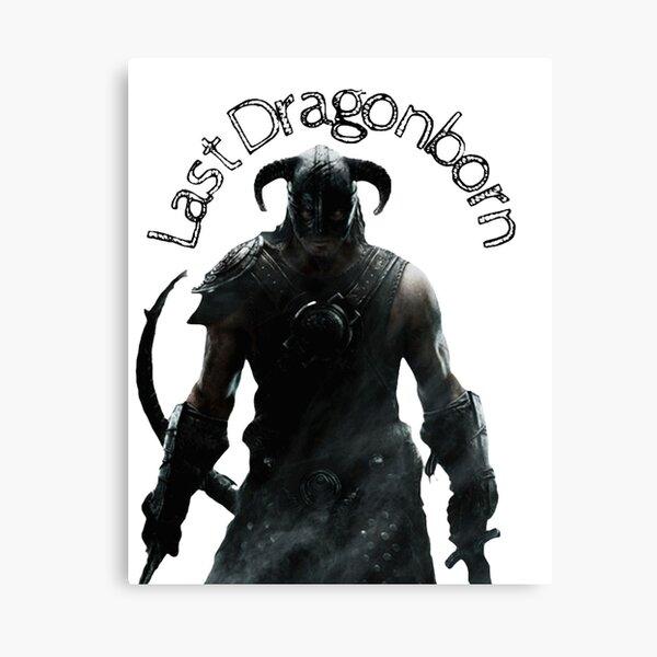 Last Dragonborn  Canvas Print
