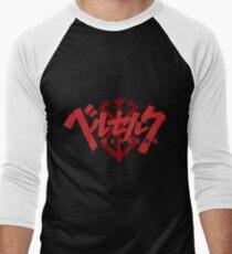 Berserk Title Men's Baseball ¾ T-Shirt