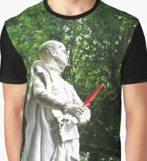 Red feather statue Graphic T-Shirt