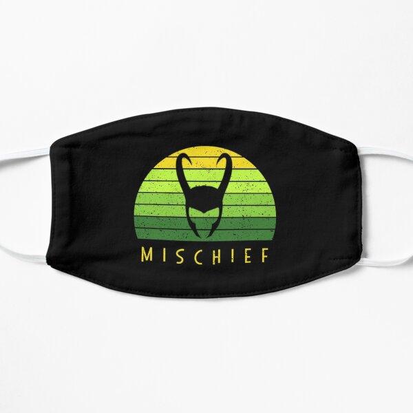 Loki mischief distressed Flat Mask