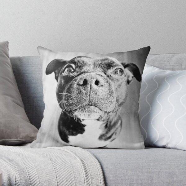 Staffy! Throw Pillow