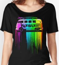 Hawaii Surfer Bus Women's Relaxed Fit T-Shirt