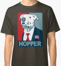Feel The Hopper (Red White and Hopper) Classic T-Shirt