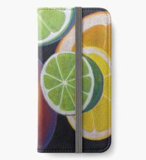 Sweet and Juicy Fruit Collage iPhone Wallet/Case/Skin