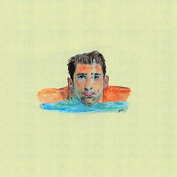 Michael Phelps by dgtutt89