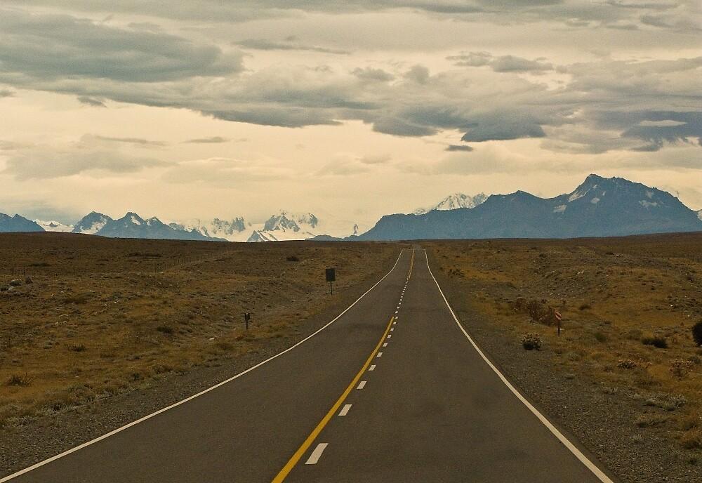 Patagonia road by David Chesluk