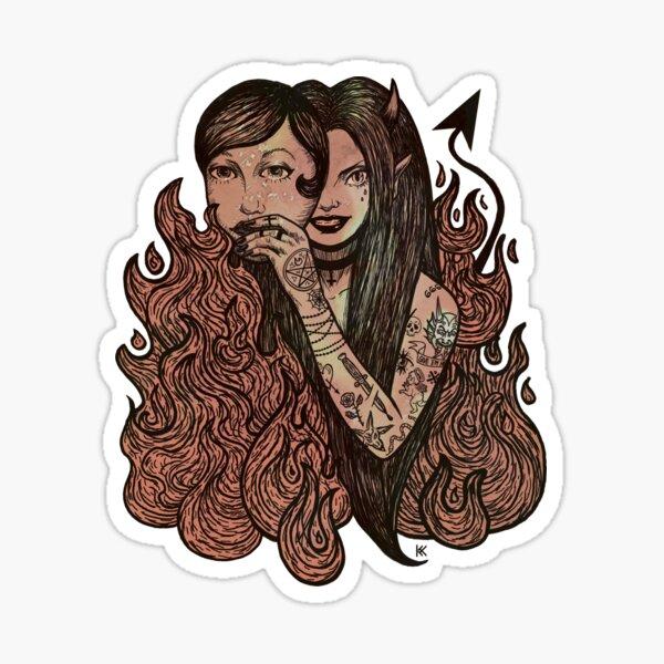 Devil In Disguise Sticker