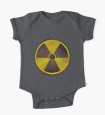 Radioactive Fallout Symbol - Geek Rusty One Piece - Short Sleeve