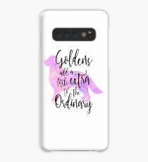 Extraordinary Golden Retriever Watercolor Case/Skin for Samsung Galaxy
