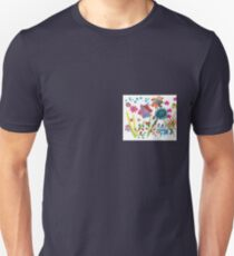 Flowers Abstract Unisex T-Shirt