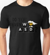 Steam PC Master Race Geek Do You Even WASD? T-Shirt