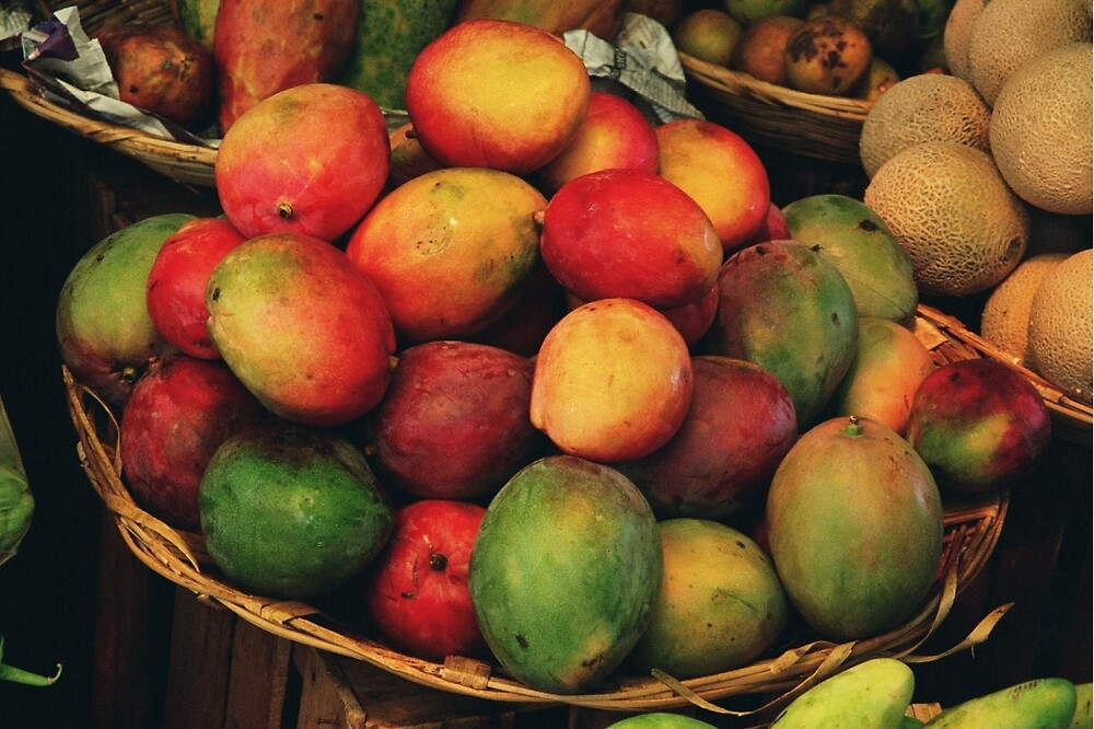 mango basket by David Chesluk