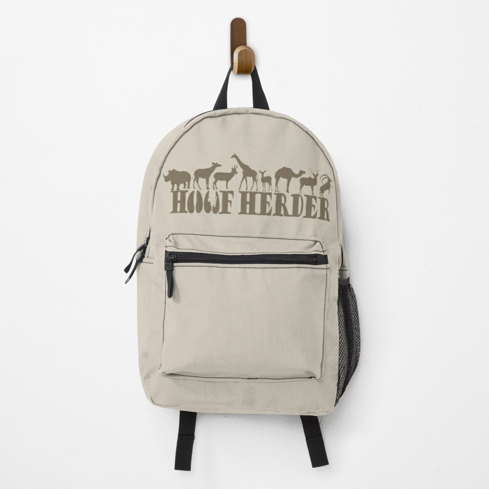 Hoof Herder Design Backpack