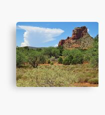 Clouds over Sedona Canvas Print