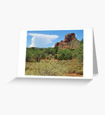 Clouds over Sedona Greeting Card