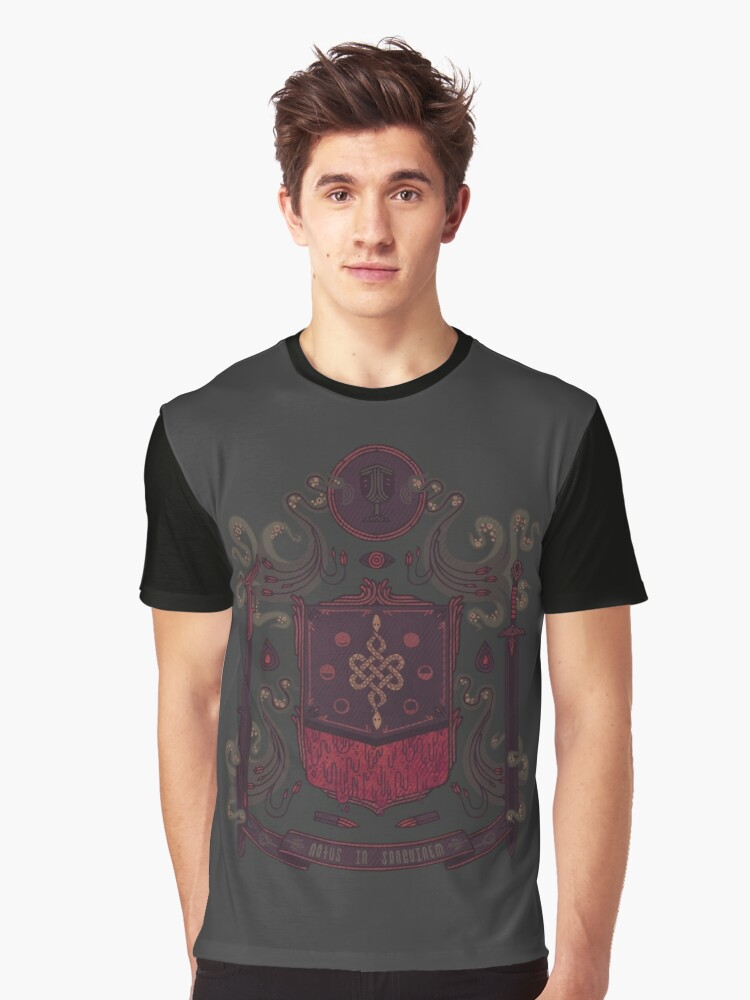 Born in Blood Graphic T-Shirt Front