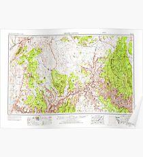 USGS TOPO Map Arizona AZ Grand Canyon 315499 1953 250000 Poster