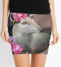 White Hart Mini Skirt