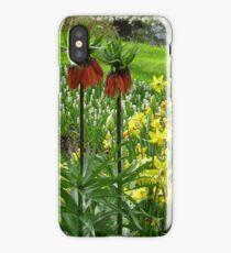 Crown Imperials - Keukenhof Gardens iPhone Case/Skin