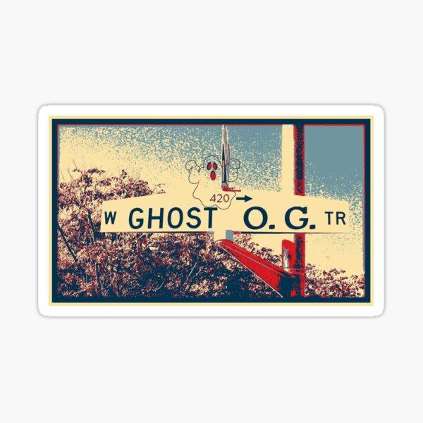 Ghost O.G. Sticker
