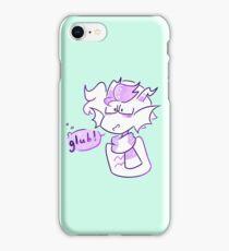 Glub!!! iPhone Case/Skin