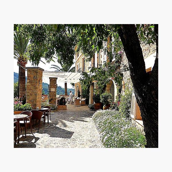 Cafe Miro Photographic Print