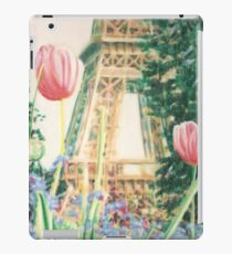 Tulipes par la tour iPad Case/Skin