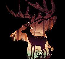 Mystical Deer by Dan Elijah Fajardo