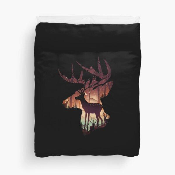 Mystical Deer Duvet Cover