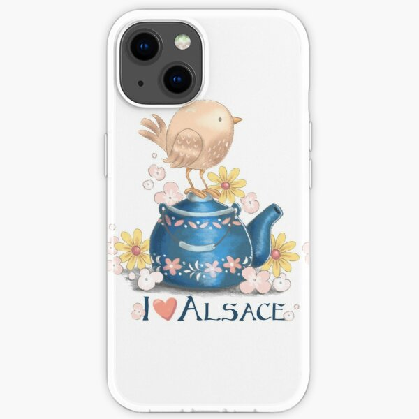 I love Alsace iPhone Soft Case