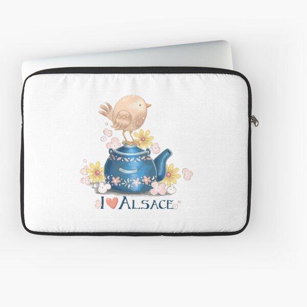 I love Alsace Laptop Sleeve