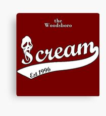 the woodsboro scream Canvas Print