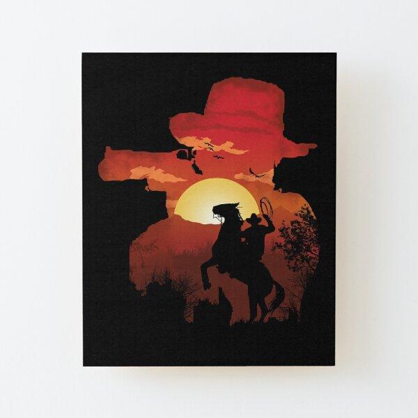 Ride Or Die Wood Mounted Print