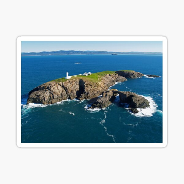 South Solitary Island Lighthouse Sticker
