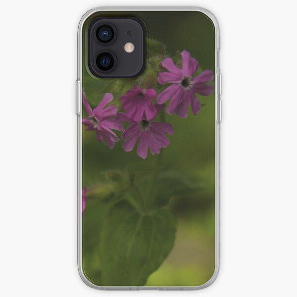 Pink Campion in Prehen Woods, Derry iPhone Soft Case