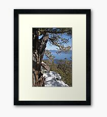 View From Maggie's Peaks Framed Print