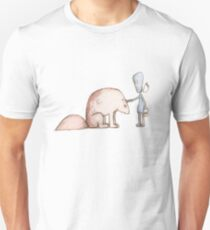 Ego Makes A Friend Unisex T-Shirt
