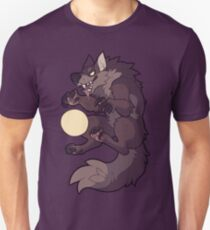 Klaue auf dem Mond Unisex T-Shirt