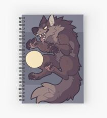 Claw at the Moon Spiral Notebook