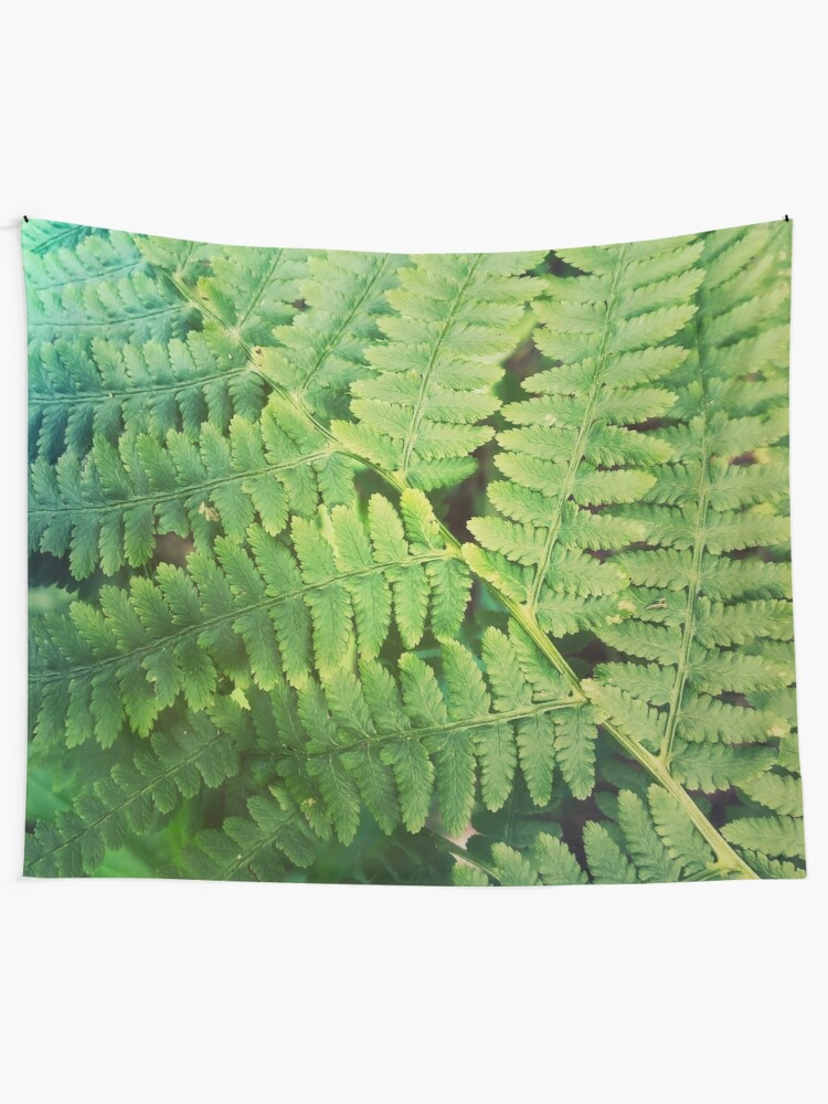 Alternate view of Fernly - Plant Lover Gift Tapestry