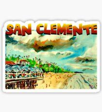 San Clemente Sticker