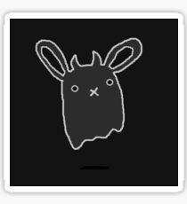 Ghost Bunny Sticker