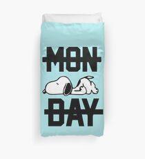 Snoopy Lazy Monday Duvet Cover