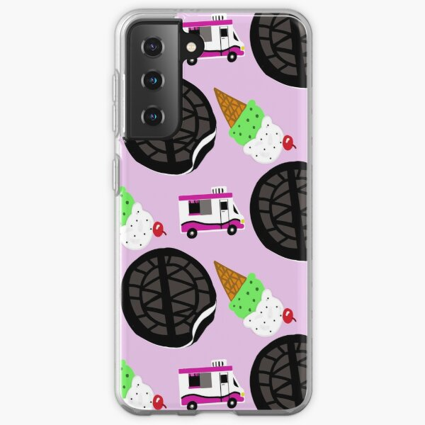 Ice cream truck w cookies Samsung Galaxy Soft Case