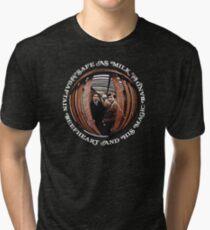 Captain Beefheart Safe As Milk Tri-blend T-Shirt