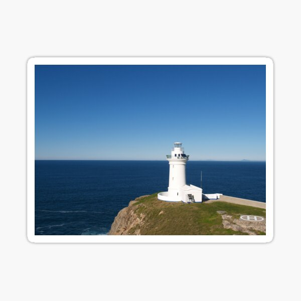 Lighthouse South Solitary Island Sticker