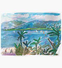 Cairns Esplanade Poster